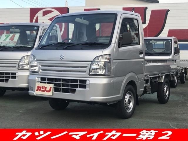 スズキ キャリイ / 660 KCエアコン・パワステ 3方開 4WD