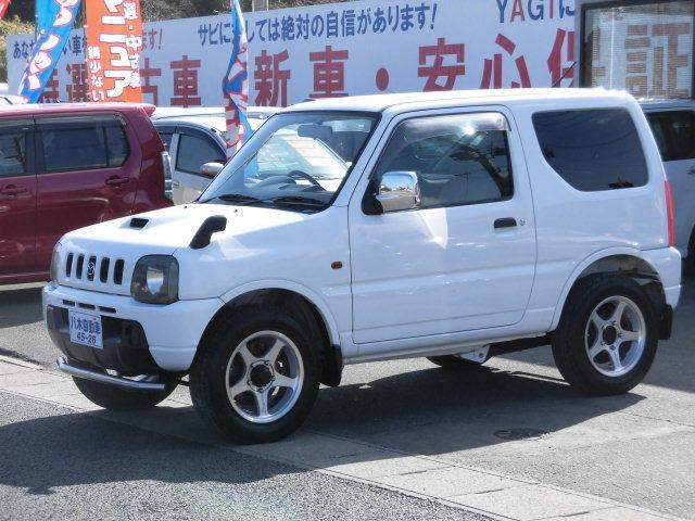 タフおすすめの軽自動車AZ-オフロード660 XL 4WD