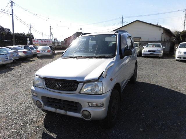 アウトドア派おすすめの軽自動車テリオスキッド660 CL 4WD