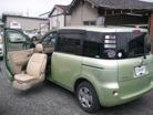 トヨタシエンタ1.5 X ウェルキャブ 助手席リフトアップシート車 Aタイプ