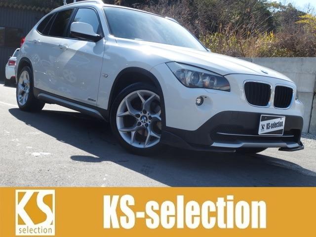 BMW X1 SDrive18i 人気のホワイト