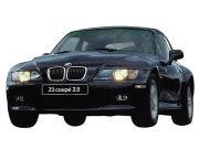98年(H10)10月、新型時のZ3coupeのフロント