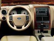 07年(H19)12月、一部改良時のV8 エディバウアー 4WDのインパネ