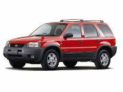 00年(H12)12月、新型時のV6 3000 XLT AWDのフロント