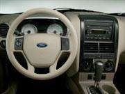 07年(H19)6月、新型時4.0 XLT 4WDのインパネ