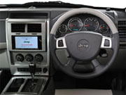 08年(H20)6月、FMC時の3.7 リミテッド 4WDのインパネ