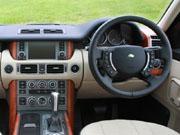 08年(H20)3月、新型時の4.2 V8 スーパーチャージド 4WDのインパネ
