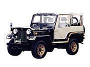 94年(H06)7月、一部改良時の2.7 ディーゼルターボ 4WDのフロント