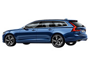 V90 T6 AWD Rデザイン 4WD のリア