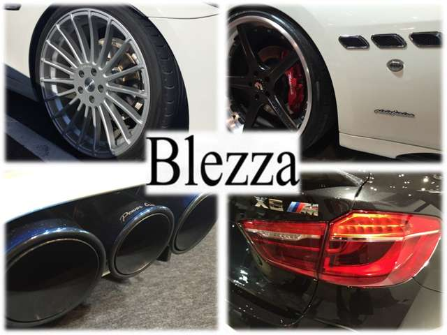 Blezza sales&service  各種サービス