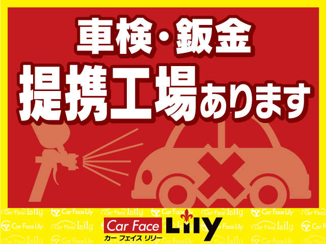 Car Face Lily  各種サービス