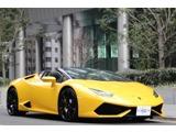 ランボルギーニウラカンスパイダー(LDF) 4WD正規D車/ブランディングPKG/スタイルPKG東京都