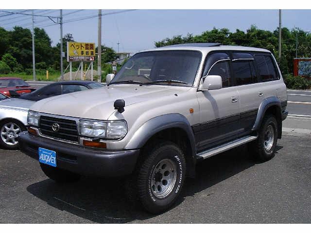トヨタ ランドクルーザー80 (愛媛県)
