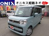 スズキスペーシア660 ハイブリッド X新車フルセグナビBカメラ ETCマットバイザ-兵庫県