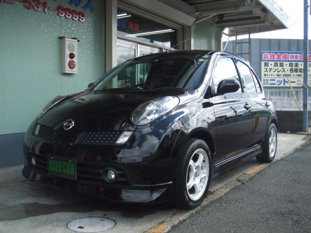 日産 マーチ 1.2 12SR 5速マニュアル ・車高調
