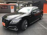 トヨタクラウンハイブリッド 3.5 RS アドバンス1オーナー 黒革電動シート愛知県