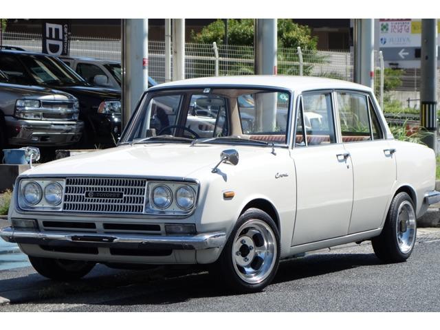昭和41年式!希少な旧車RT40バリカンコロナが入庫!3代目コロナです。フロントスラントノーズに側面アローラインを入れて強い疾走感を演出!発売4カ月後に販売台数で410型ブルーバードを抜き国内トップセラーに