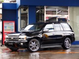 シボレートレイルブレイザーLTZ サンルーフ装着車 4WDHDD地デジナビ 革SR 22AW千葉県
