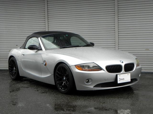 BMWZ4ロードスター2.5i赤レザーシート ETC熊本県