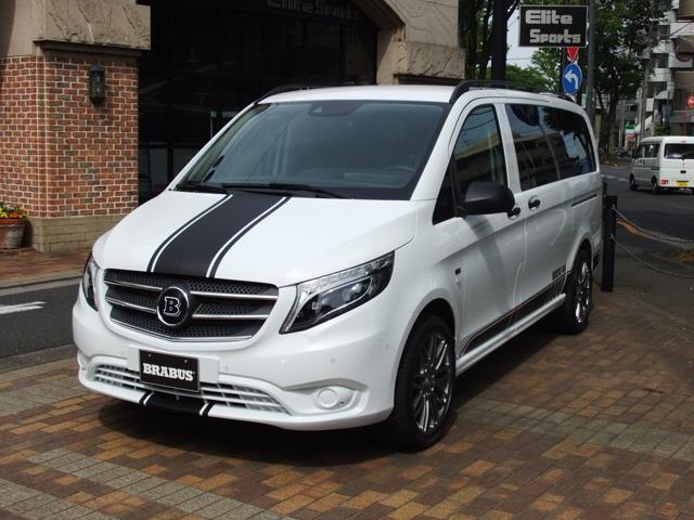 新車8人乗り 4輪駆動車 BRABUS新ラインスポーツD25 3人ベットに対応仕様は別途40万円