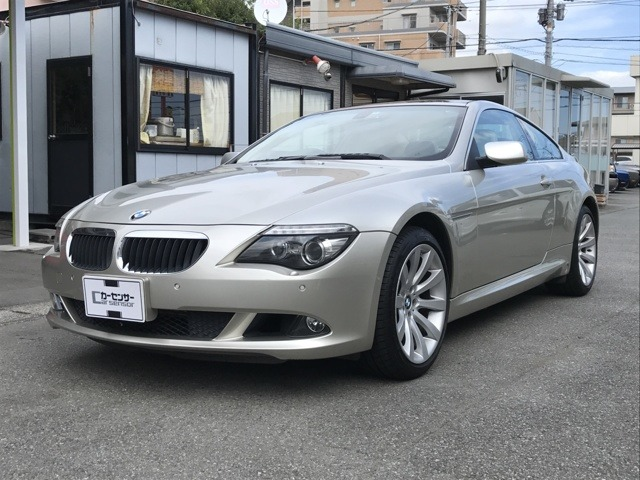 BMW6シリーズ630iワンオーナー ETC静岡県