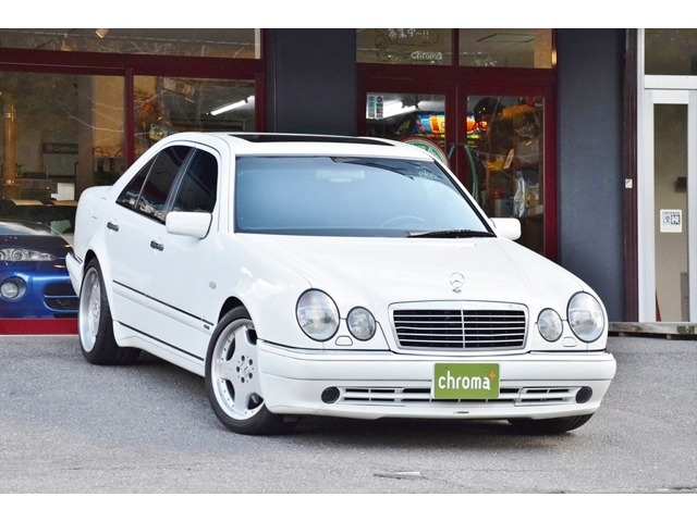 AMG E60 Limited edition widebody 正規ディーラー車です