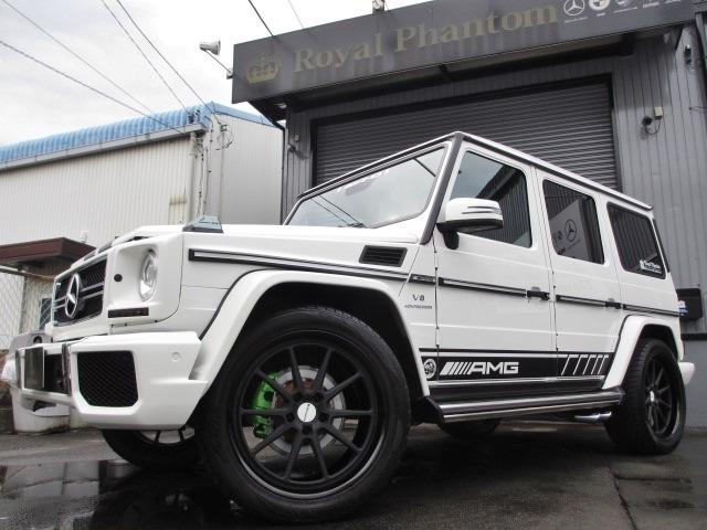 AMGGクラスG55L 4WDデジーノ 鍛造22AW 62style カスタマイズ静岡県