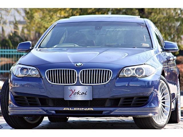 この度内装外装共にとてもコンディションの良い《ワンオーナー》 《 BMW アルピナ B5 ビターボ リムジン が入庫致しました。充実のオプション装備(約1580000)に、記録簿も残っております。