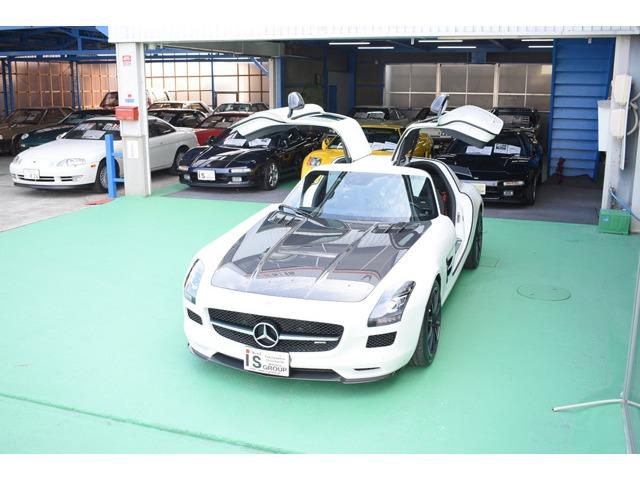 AMGSLSクラスSLS AMG GT ファイナル エディション20台限定 ディ―ラー車 カーボンインテリア広島県