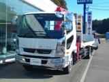 三菱ふそうファイター積載量6.6t 4段クレーン電動ミラー ABS HID ラジコン付鹿児島県