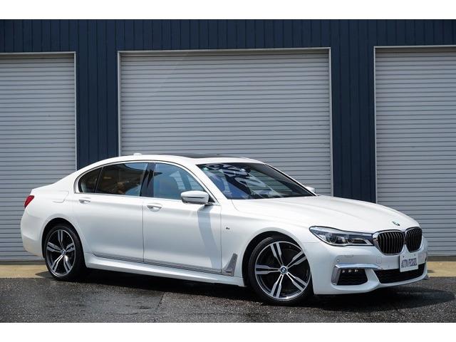 2016y BMW 750Li Mスポーツ 1オーナー 左ハンドル 茶革 の入庫です!