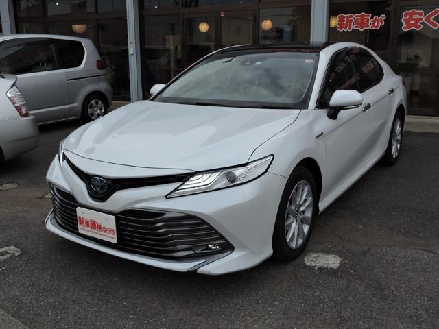 トヨタカムリ2.5 GSDナビ付 新車 SR茨城県