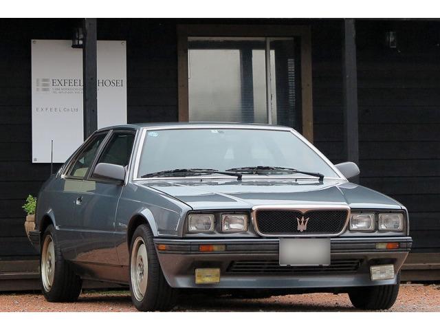 マセラティ222Eディーラー整備記録簿 取説 17年製タイヤ千葉県