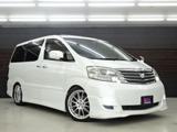 トヨタアルファード3.0 G MS 4WD両側P 純正HDD フリップD 19AW北海道