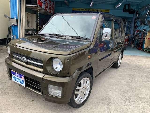 ダイハツ ネイキッド 660 ターボG 4WD MT/4人乗り/4WD/5MT/車検令和3年11月付