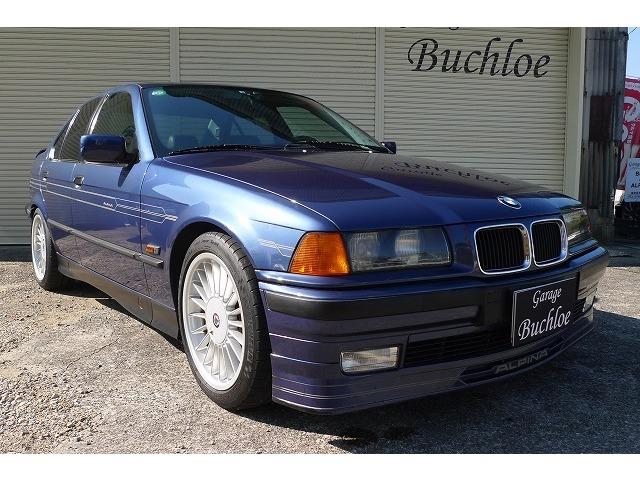 新車並行車 アルピナブルー 1995年モデル 左ハンドル