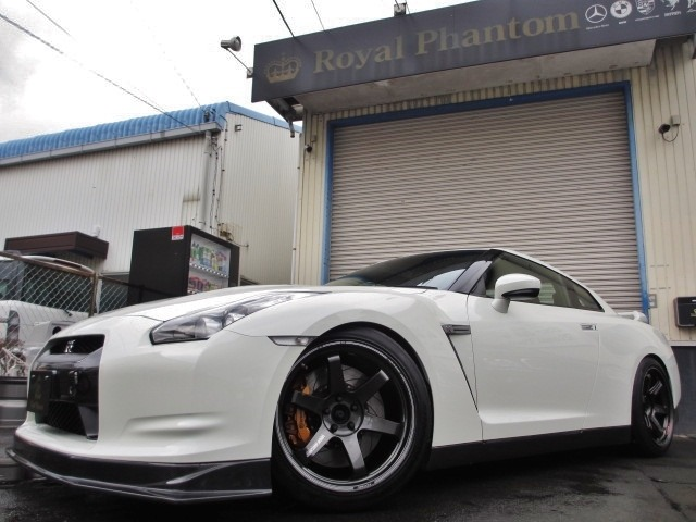 日産GT-RCPUチューン RAYS TE37  車高調 中古車画像