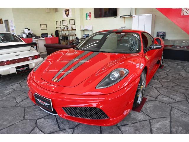 2009y;フェラーリ430スクーデリア・正規ディーラー車(コーンズ物)が新入庫致しました。