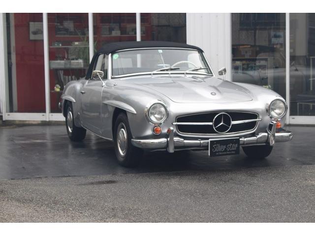 1957年式W121 190SLです
