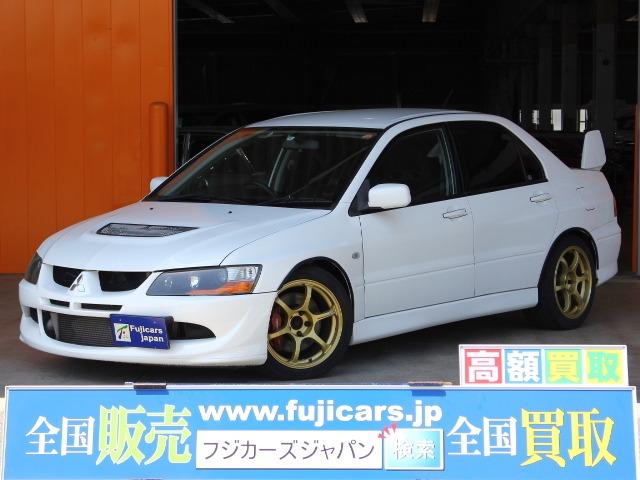 三菱ランサーエボリューション2.0 GSR VIII MR 4WD記録簿広島県