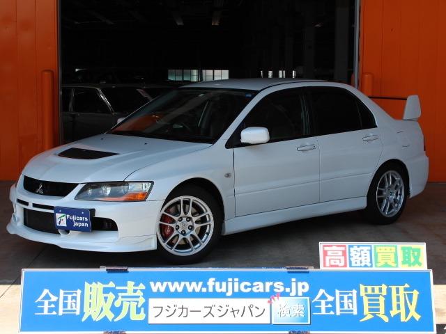 三菱ランサーエボリューション2.0 GSR IX MR 4WD17インチAW広島県