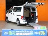日産NV200バネット1.6 チェアキャブ 車いす1名仕様 専用サードシート無6人乗車広島県