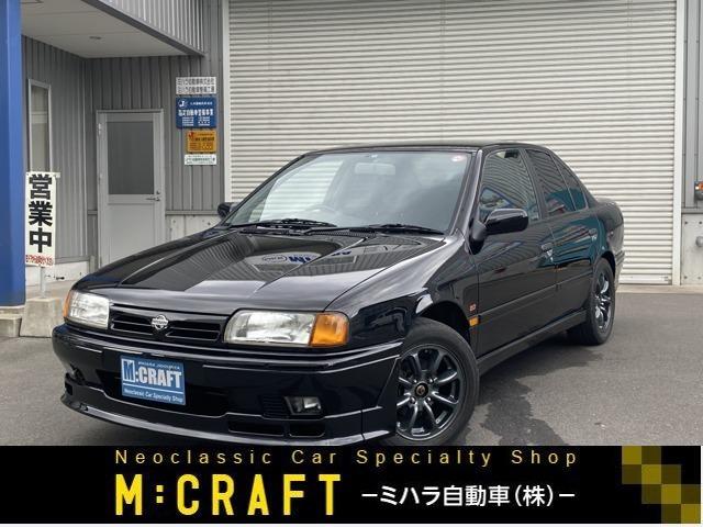 希少なオーテックバージョンです! 当時の全日本ツーリングカー選手権参戦を記念して作られたオーテックがスポーティーにチューンしたスペシャルバージョンのプリメーラです。