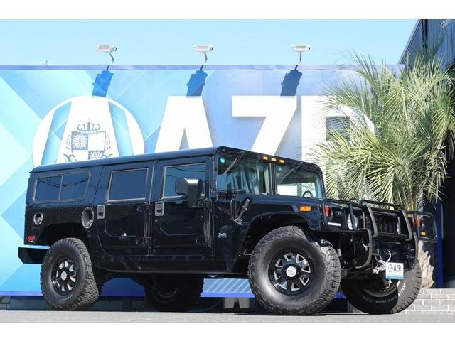 2003y ハマー AMGENERAL H1 4WD カスタムインテリア CTISホイール17インチ