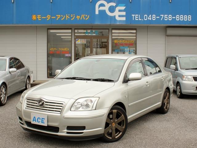 トヨタアベンシス2.0 Xi社外メモリーナビ ワンオーナー車埼玉県