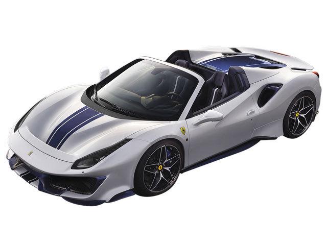フェラーリ488ピスタスパイダーのタイヤの溝が減ってきたので交換しようと思っています。フェラーリ488ピスタスパイダーのタイヤサイズとインチサイズを教えてください。フェラーリ488ピスタスパイダーの場合、夏用のタイヤでインチアップするとしたら何インチがオススメですか。