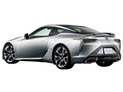 LC 500 ラスターイエロー のリア