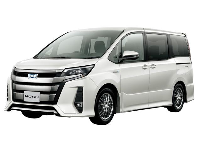 トヨタ ノアの燃費・総合情報(歴代のモデル別燃費情報)