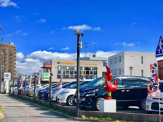 トヨタカローラ名古屋(株) U−Car一宮若竹の店舗画像
