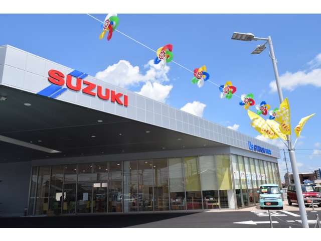 スズキ自販中部 U's STATION 岡崎北の店舗画像